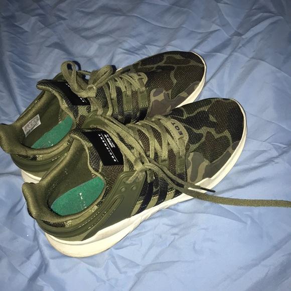 Adidas Eqt Camo Shoe Womens Sz 8